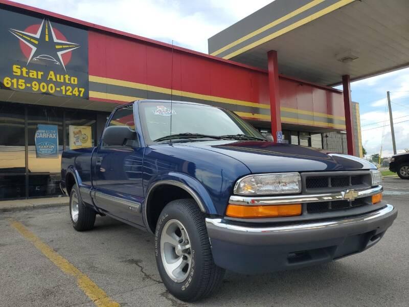 2000 Chevrolet S-10 for sale at Star Auto Inc. in Murfreesboro TN