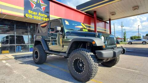 2010 Jeep Wrangler for sale at Star Auto Inc. in Murfreesboro TN