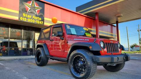 2008 Jeep Wrangler for sale at Star Auto Inc. in Murfreesboro TN