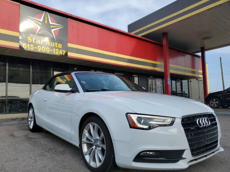 2013 Audi A5 for sale at Star Auto Inc. in Murfreesboro TN