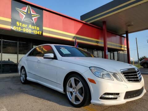 2013 Mercedes-Benz E-Class for sale at Star Auto Inc. in Murfreesboro TN
