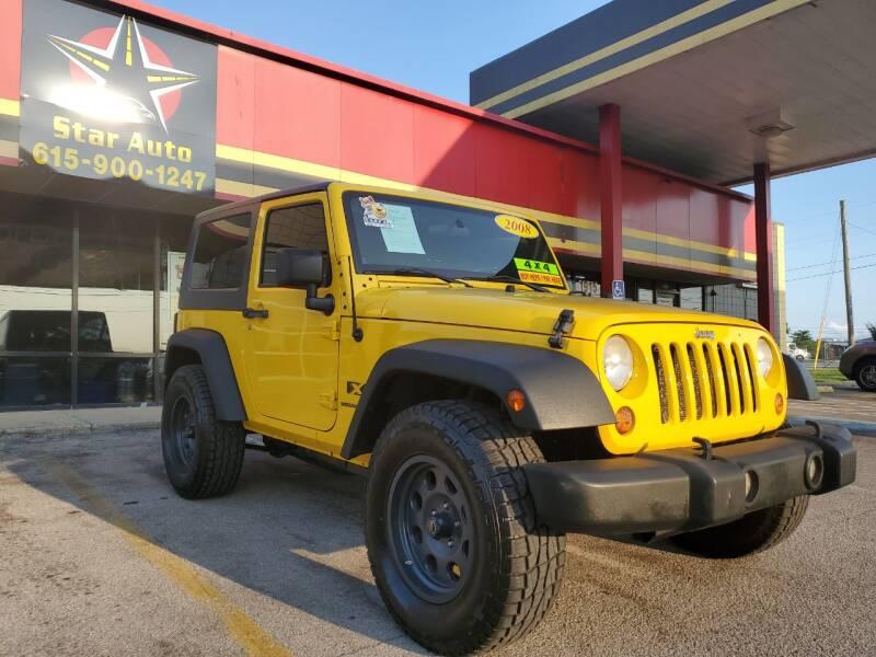 2008 Jeep Wrangler for sale at Star Auto Inc. in Murfreesboro TN