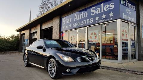 2013 Infiniti G37 Coupe for sale at Star Auto Inc. in Murfreesboro TN