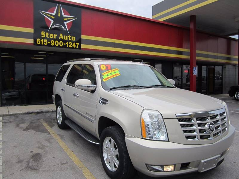2007 Cadillac Escalade In Murfreesboro Tn Star Auto Inc