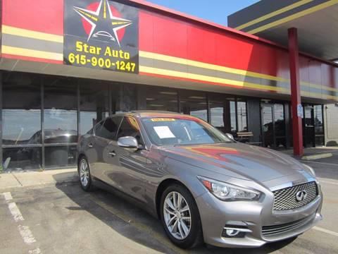 2014 Infiniti Q50 for sale at Star Auto Inc. in Murfreesboro TN