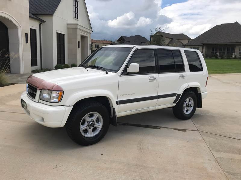 1999 Isuzu Trooper for sale at Russell Brothers Auto Sales in Tyler TX