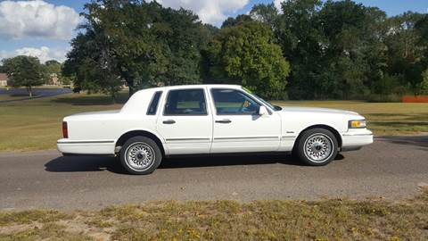 1997 Lincoln Town Car for sale in Tyler, TX