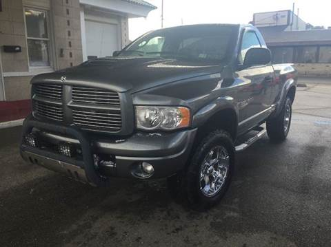 2005 Dodge Ram Pickup 1500 for sale at Steel River Auto in Bridgeport OH