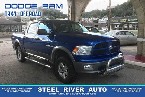 2010 Dodge Ram Pickup 1500 for sale at Steel River Auto in Bridgeport OH