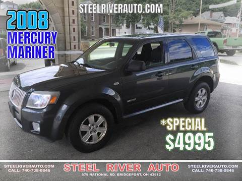 2008 Mercury Mariner for sale at Steel River Auto in Bridgeport OH
