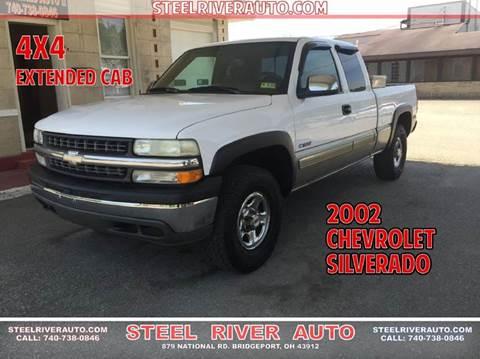 2002 Chevrolet Silverado 1500 for sale at Steel River Auto in Bridgeport OH