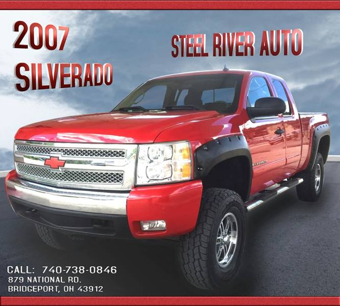 2007 Chevrolet Silverado 1500 for sale at Steel River Auto in Bridgeport OH