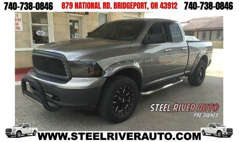 2009 Dodge Ram Pickup 1500 for sale at Steel River Auto in Bridgeport OH