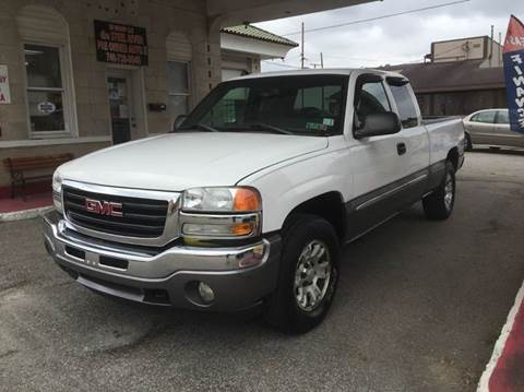 2005 GMC Sierra 1500 for sale at Steel River Auto in Bridgeport OH