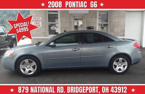 2008 Pontiac G6 for sale at Steel River Auto in Bridgeport OH