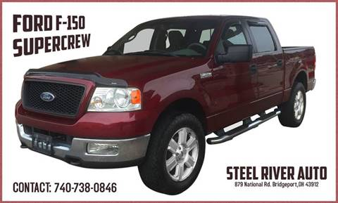 2005 Ford F-150 for sale at Steel River Auto in Bridgeport OH