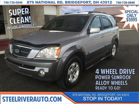 2005 Kia Sorento for sale at Steel River Auto in Bridgeport OH
