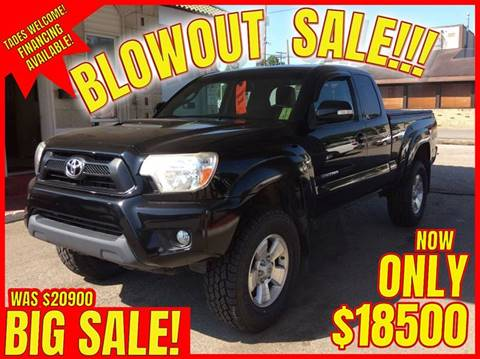 2012 Toyota Tacoma for sale in Bridgeport, OH