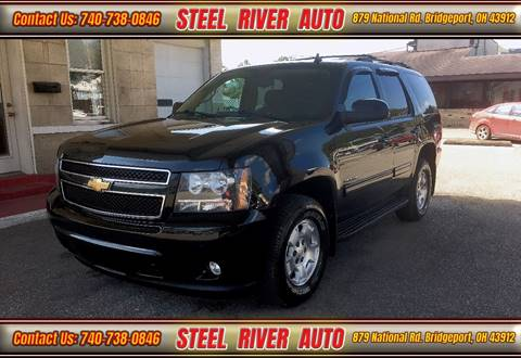 2011 Chevrolet Tahoe for sale at Steel River Auto in Bridgeport OH