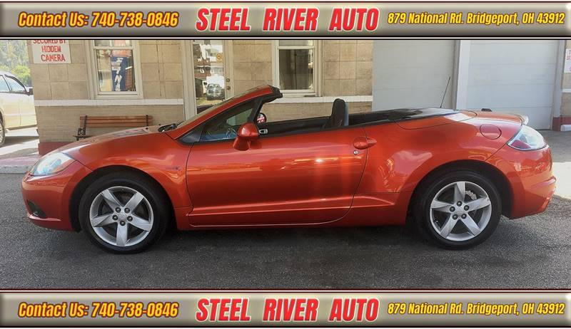 2009 Mitsubishi Eclipse Spyder for sale at Steel River Auto in Bridgeport OH