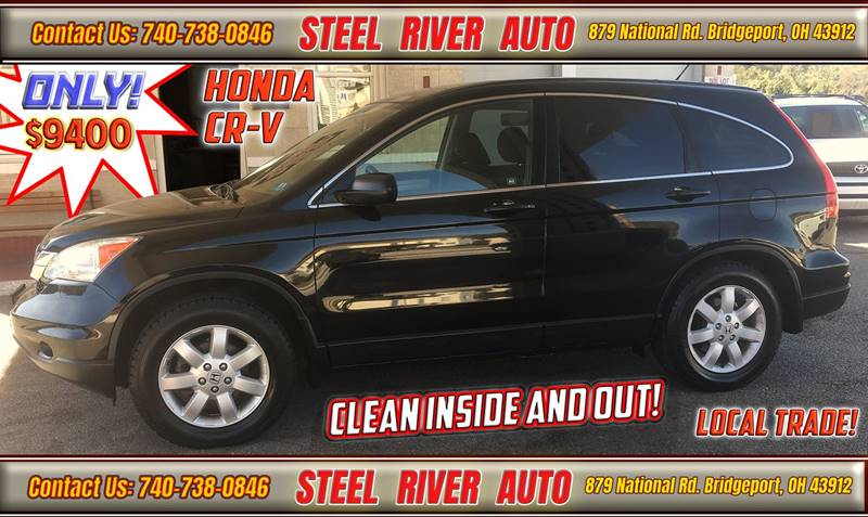 2011 Honda CR-V for sale at Steel River Auto in Bridgeport OH