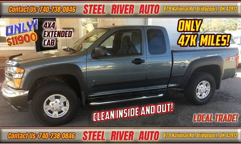 2006 Chevrolet Colorado for sale at Steel River Auto in Bridgeport OH