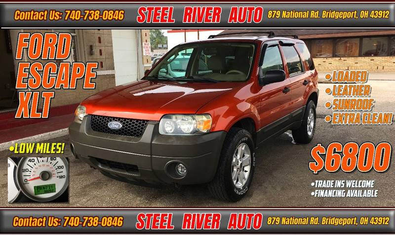 2006 Ford Escape for sale at Steel River Auto in Bridgeport OH