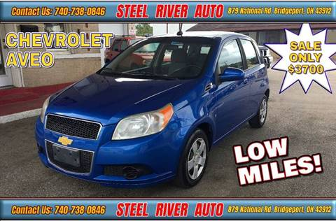 2009 Chevrolet Aveo for sale at Steel River Auto in Bridgeport OH