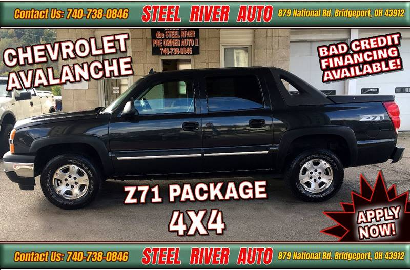 2006 Chevrolet Avalanche for sale at Steel River Auto in Bridgeport OH