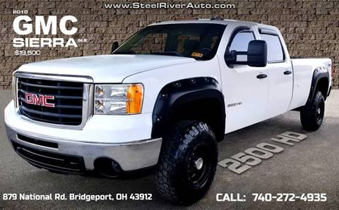 2010 GMC Sierra 2500HD for sale in Bridgeport, OH