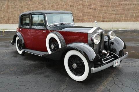 1935 Rolls-Royce Park Ward for sale at Park Ward Motors Museum - Park Ward Motors in Crystal Lake IL