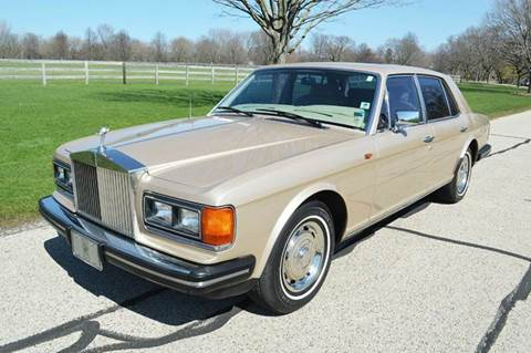 1982 Rolls-Royce Silver Spirit for sale at Park Ward Motors Museum - Park Ward Motors in Crystal Lake IL