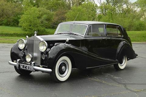 1953 Rolls-Royce Wraith for sale at Park Ward Motors Museum - Park Ward Motors in Crystal Lake IL
