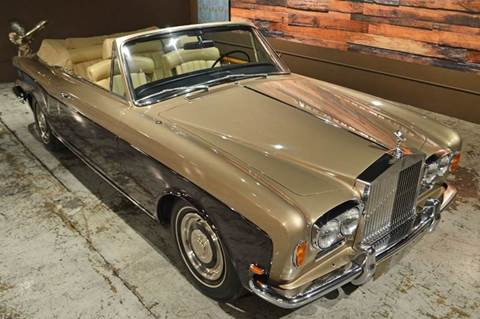 1969 Rolls-Royce Corniche for sale at Park Ward Motors Museum - Park Ward Motors in Crystal Lake IL