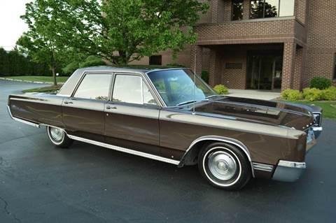1967 Chrysler Newport for sale at Park Ward Motors Museum - Park Ward Motors in Crystal Lake IL