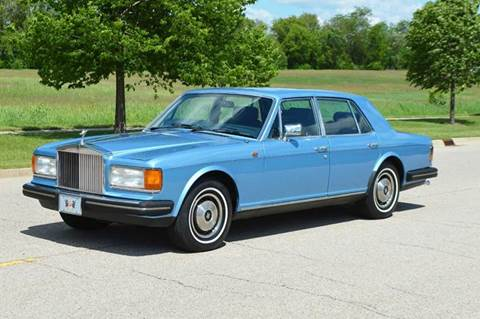 1981 Rolls-Royce Silver Spirit for sale at Park Ward Motors Museum - Park Ward Motors in Crystal Lake IL