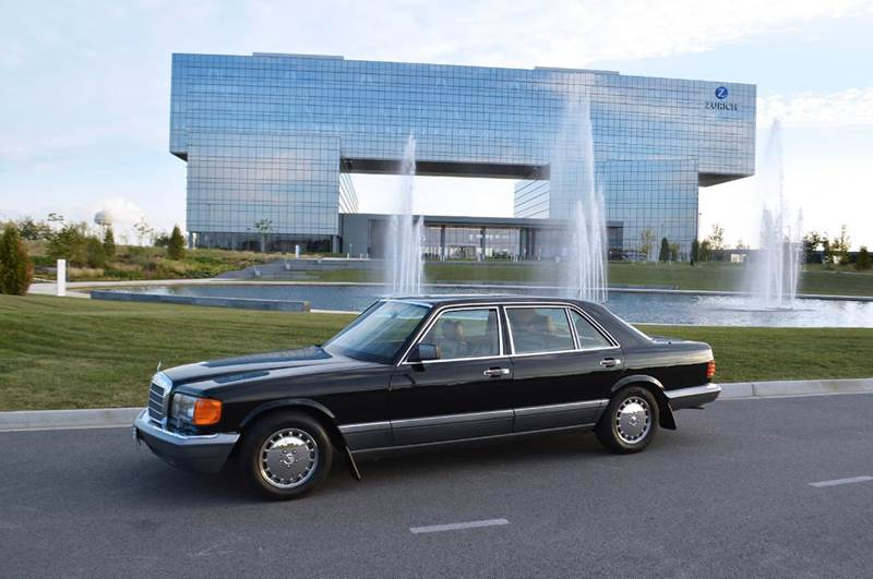 1989 Mercedes-Benz S-Class for sale at Park Ward Motors Museum - Park Ward Motors in Crystal Lake IL