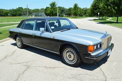1991 Rolls-Royce Silver Spur for sale at Park Ward Motors Museum - Park Ward Motors in Crystal Lake IL