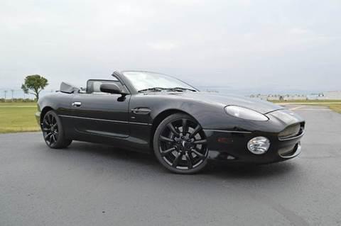 2002 Aston Martin DB7 for sale at Park Ward Motors Museum - Park Ward Motors in Crystal Lake IL