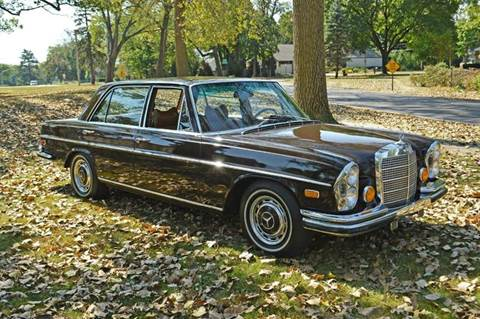 1972 Mercedes-Benz 280-Class for sale at Park Ward Motors Museum - Park Ward Motors in Crystal Lake IL
