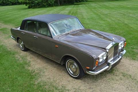 1969 Rolls-Royce Silver Shadow LWB division for sale at Park Ward Motors Museum - Park Ward Motors in Crystal Lake IL