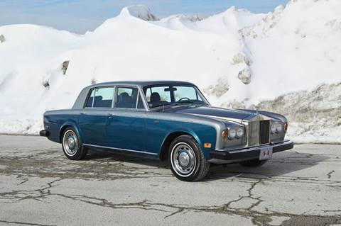 1978 Rolls-Royce Silver Shadow for sale at Park Ward Motors Museum - Park Ward Motors in Crystal Lake IL