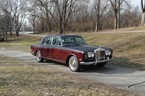 1971 Rolls-Royce Silver Shadow LWB w division for sale at Park Ward Motors Museum - Park Ward Motors in Crystal Lake IL