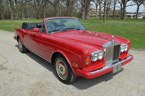 1991 Rolls-Royce Corniche for sale at Park Ward Motors Museum - Park Ward Motors in Crystal Lake IL