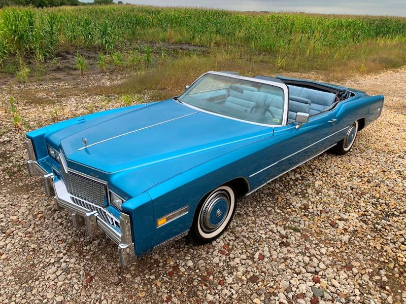 1976 Cadillac Eldorado for sale at Park Ward Motors Museum - Park Ward Motors in Crystal Lake IL