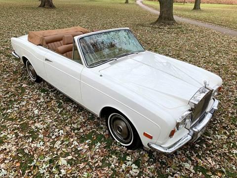 1971 Rolls-Royce Corniche for sale at Park Ward Motors Museum - Park Ward Motors in Crystal Lake IL
