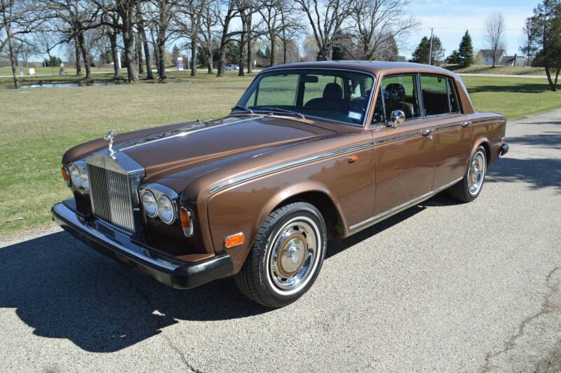 1974 Rolls-Royce Silver Shadow for sale at Park Ward Motors Museum - Park Ward Motors in Crystal Lake IL