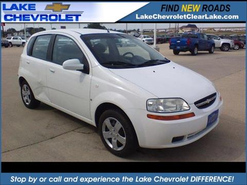 2007 Chevrolet Aveo for sale in Clear Lake, IA