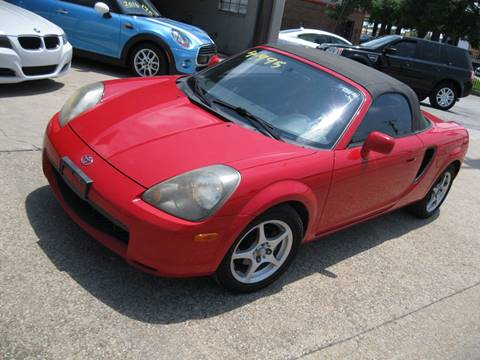 2001 Toyota MR2 Spyder for sale at BARCLAY MOTOR COMPANY in Arlington TX