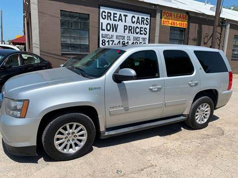 2010 Chevrolet Tahoe Hybrid for sale in Arlington, TX